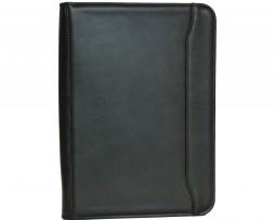 Ručne tamponovaná kožená spisovka. Kožené spisovky pre prehladný a praktický prenos dokumentov, spisov, prezentácií a dalších dokumentov A41