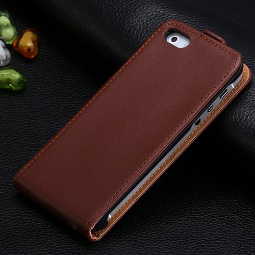 Luxusný kožený obal na iPhone 5:5S vo farbách1