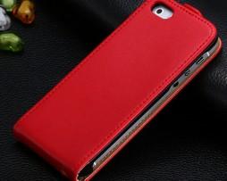 Luxusný kožený obal na iPhone 5:5S vo farbách3