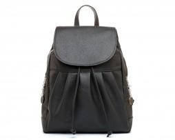 Dámsky módny ruksak 8665k v čiernej farbe (1)
