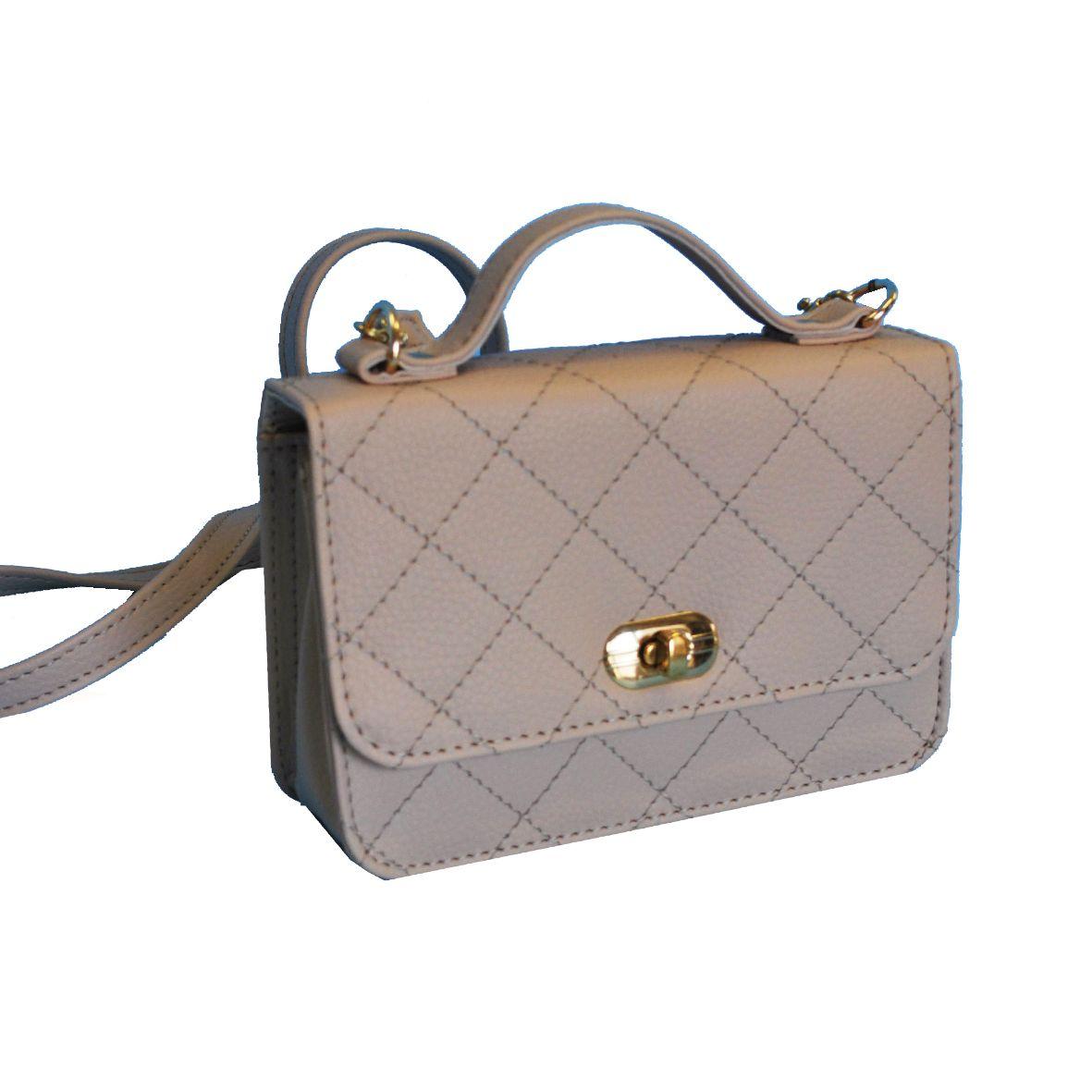 Dámska štýlová kabelka crossbody 8679 vo svetlo béžovej farbe 16c8c943c5d