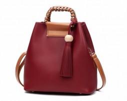Luxusná štýlová kabelka cez plece a do ruky vo farbách (1)