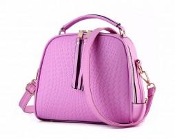Moderná kabelka v elegantnom štýle s dvomi oddeleniami vo farbách (2)