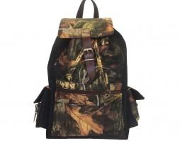 Textilný športový ruksak 8673 s popruhom v čiernej farbe (2)
