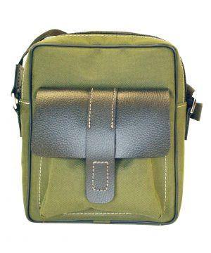 Textilná športová etua crossbody 8678 v šedej farbe (1)