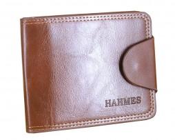 Kožená lesklá peňaženka značky Hahmes vo farbách1
