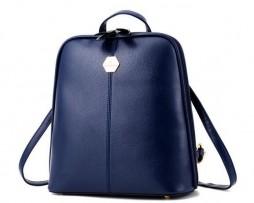 Moderný dámsky ruksak v jednoduchom elegantnom dizajne vo farbách (4)