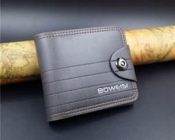 Moderná pánska peňaženka na zapínanie vo farbách2