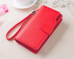 Multifunkčná dámska kožená peňaženka vo farbách2