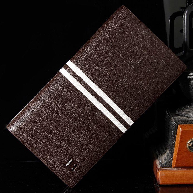 Vysoká pánska kožená peňaženka značky Bogesi v hnedej farbe  a5a7c515ded