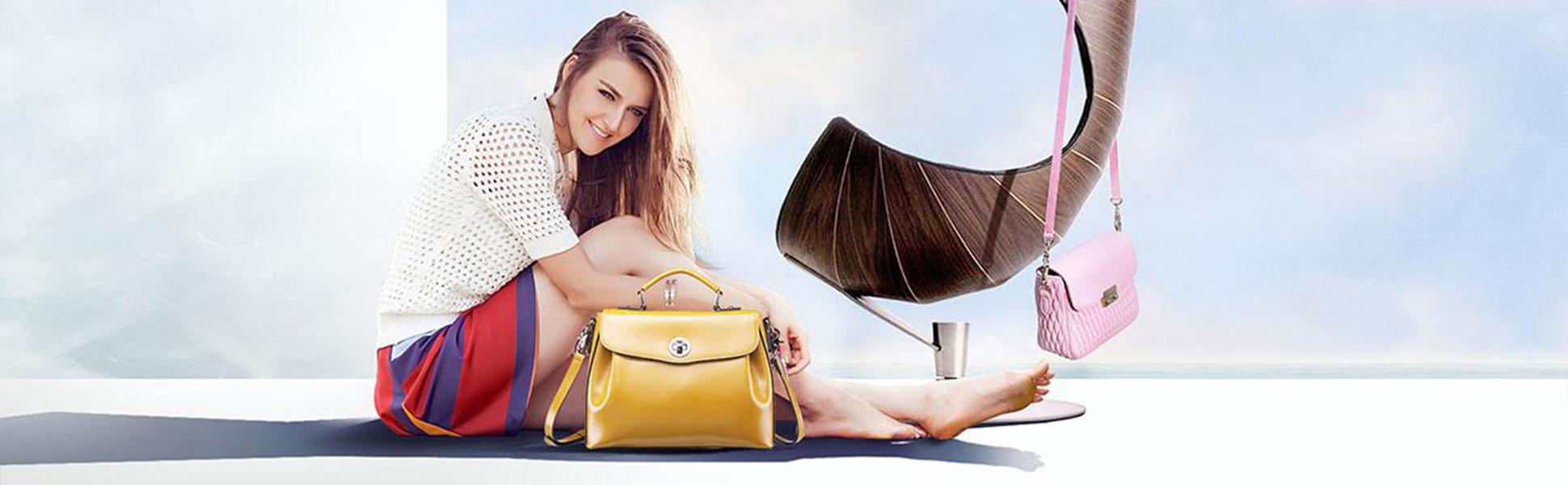 Kožené kabelky z luxusných materiálov