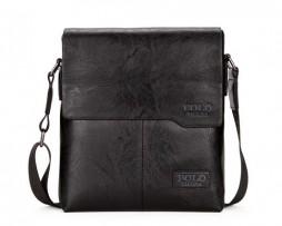Luxusná taška POLO vyrobená z kože cez rameno vo farbách (1)