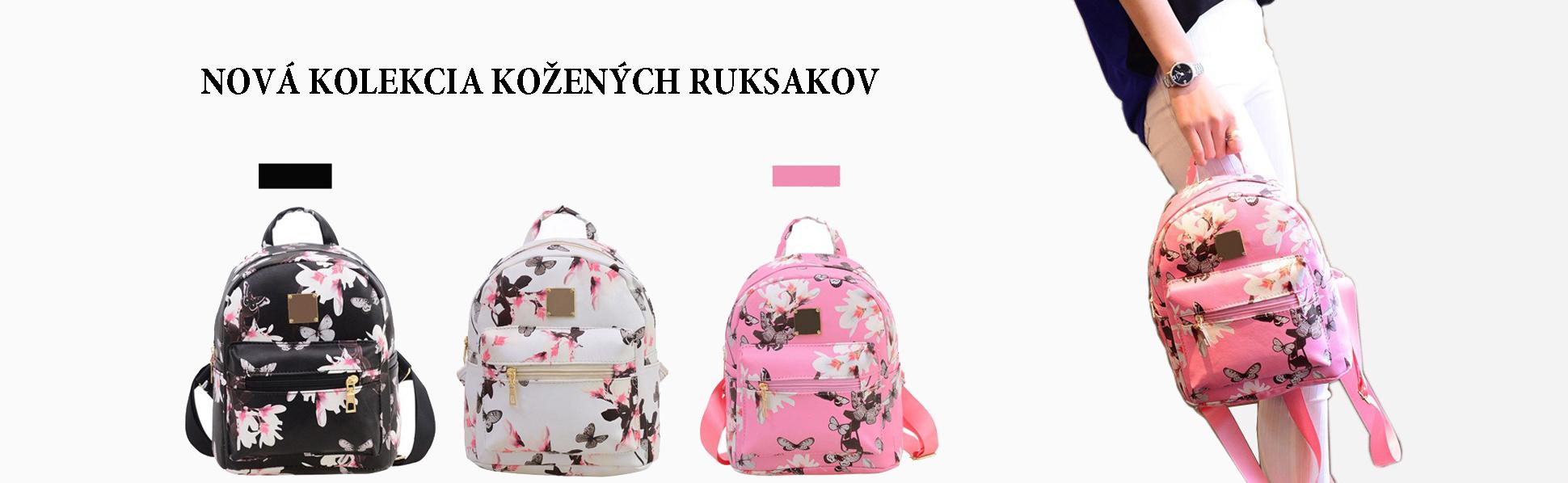 Nova kolekcia kozenych ruksakov a batohov