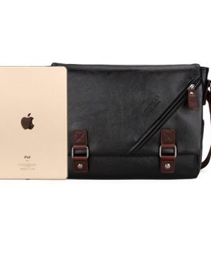 Táto nádherná kožená taška na rameno poteší a padne do oka každému (3)