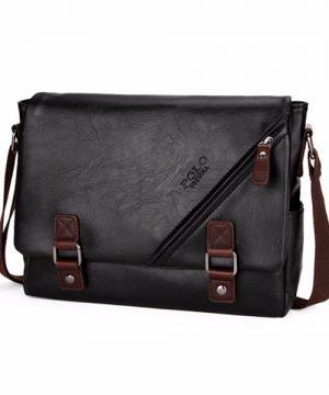 Táto nádherná kožená taška na rameno poteší a padne do oka každému (7)