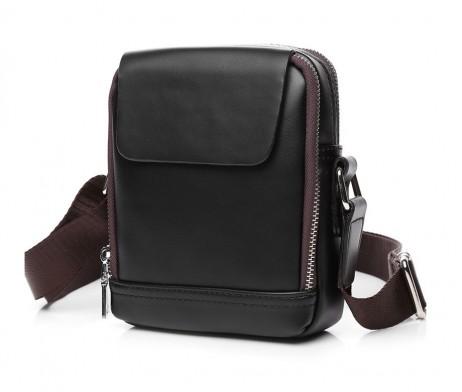 Biznis kožená taška POLO cez plece vo farbách