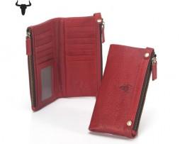 Dámska kožená peňaženka z kolekcie COUNTRY vo farbách