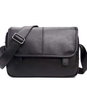 Elegantná kožená pracovná taška cez rameno vo farbách (7)