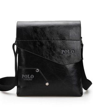 Kožená-taška-POLO-cez-plece-v-čiernej-farbe-2