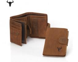 Kvalitná kožená peňaženka z kolekcie COUNTRY vo farbách