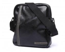 Pánska-štýlová-kožená-taška-cez-plece-v-čiernej-farbe-5