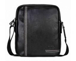 Pánska štýlová kožená taška cez plece vo farbách (2)