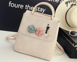 Krásny dámsky kožený ruksak. Vyjadri svoj štýl, vyber si z našej ponuky originálnych, umeleckých a štýlových ruksakov (3)