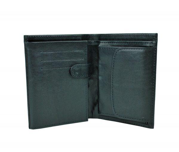 Luxusná kožená peňaženka vyrobená z prírodnej kože. Kvalitné spracovanie a talianska koža (2)