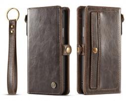 Peňaženkové-magnetické-púzdro-pre-iPhone-X-v-hnedej-farbe.-2