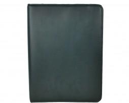 Elegantná kožená spisovka z kože č.8673 v čiernej farbe