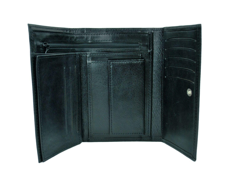 abf36a0c9 Elegantná peňaženka z pravej kože č.8559 v čiernej farbe. Len u nás Vám