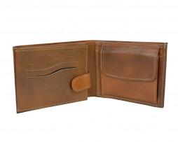 Elegantná peňaženka z pravej kože.Peňaženka savyznačujevysokou kvalitou použitých materiálova ich precíznym spracovaním (4)