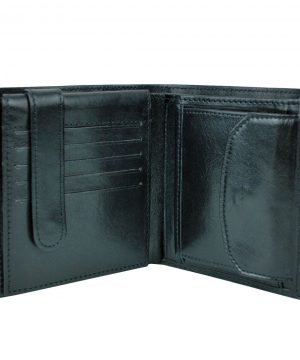 Kožená peňaženka s bohatou výbavou vyrobená z prírodnej kože. Ideálna veľkosť do vrecka a značková kvalita pre náročných. Overená kvalitapravej kože. (2)