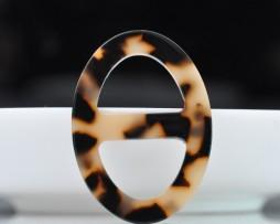 Luxusná-pracka-na-šatku-a-šál-vyrobená-zo-živice-v-leopardom-vzhľade