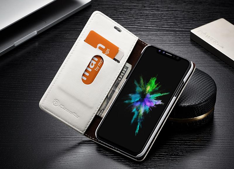 Luxusné kožené púzdro pre iPhone X ce60d50dbc7