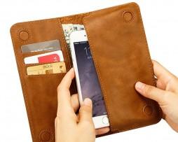 Peňaženkové-púzdro-JISONCASE-pre-iPhone-6-6S-z-pravej-kože-hnedá-farba1