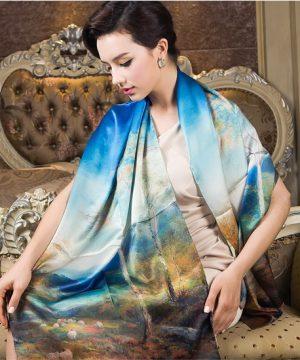 Ponúkame vám hodvábne šále, vyrobené s precíznosťou na profesionálnej úrovni, ktoré záujmu a potešia každého