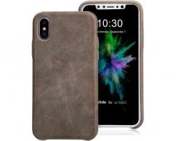 Prémiový-obal-na-iPhone-X-z-prírodnej-kože-v-šedej-farbe-1
