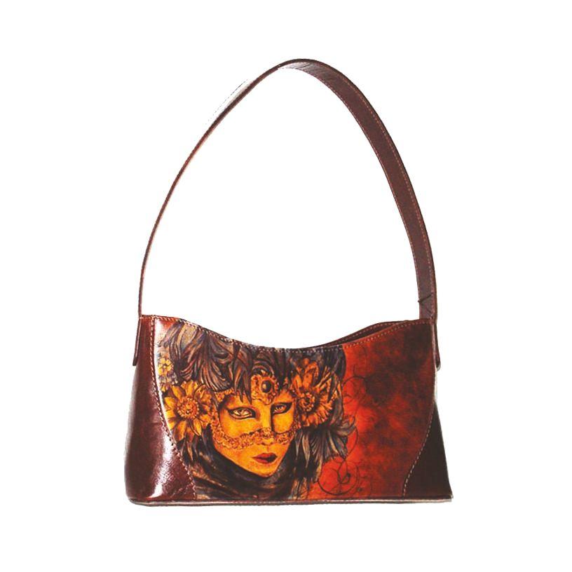b71bfc7b6faa Ručne maľovaná kabelka 7793 s motívom Veneziana