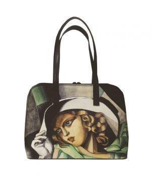 Ručne-maľovaná-kabelka-8573-inšpirovaná-motívom-Tamara-de-Lempicka
