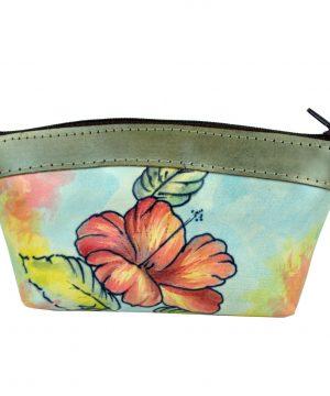 Ručne maľované púzdro 8583 s motívom Farebného kvetu