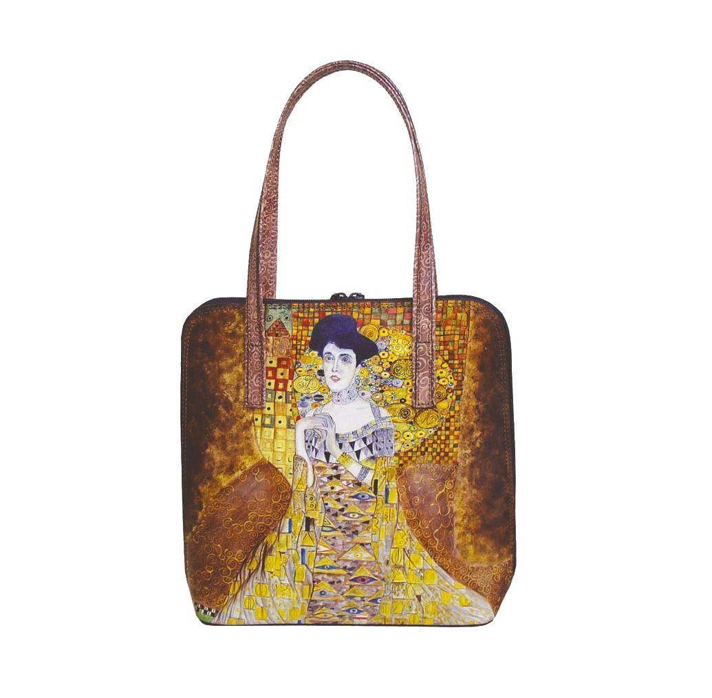 964d52d3ab60 Ručne maľovaná kabelka 8192 inšpirovaná motívom Gustav Klimt ...