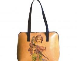 Ručne-maľovaná-kabelka-8574-inšpirovaná-motívom-Alfons-Mucha