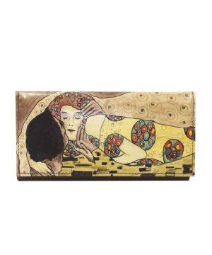 Ručne-maľovaná-peňaženka-7757-inšpirovaná-motívom-Gustav-Klimt-Kiss