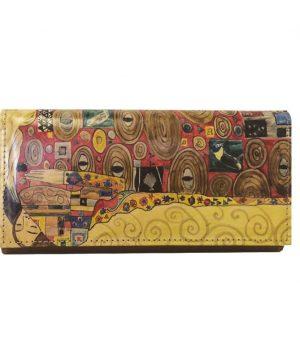 Ručne-maľovaná-peňaženka-7757-s-motívom-Gustav-Klimt