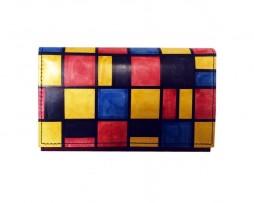 Ručne-maľovaná-peňaženka-8542-inšpirovaný-motívom-Piet-Mondrian