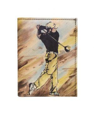 Ručne-maľovaná-peňaženka-8560-s-motívom-Golfistu