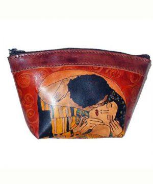 Umelecké ručne maľovanépúzdro – kozmetická taštička