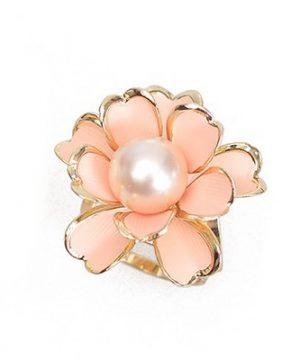 Unikátna ozdoba s názvom Ružová perla v podobe nádherného perlového kveta je ozdobná spona s väčšími rozmermi ako klasická ozdoba biela perla (3)