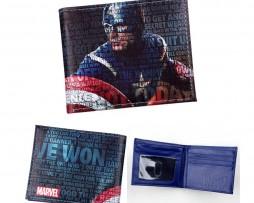Kožená peňaženka z kolekcie MARVEL AVENGERS - Captain America 001